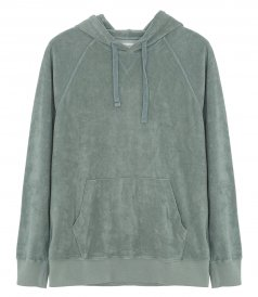 CLOTHES - TOWELLING HOODIE