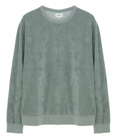 JUST IN - TOWELLING SWEATSHIRT