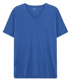 JUST IN - LIGHT JERSEY V-NECK T-SHIRT