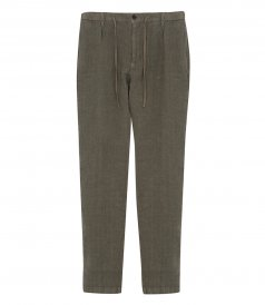 LINEN TANKER EASY PANTS