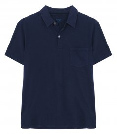 CLOTHES - SLUB COTTON POLO