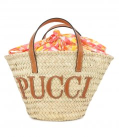 LILLY PRINT BASKET BAG