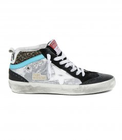 GOLDEN GOOSE  - PAILLETTES & MIMETIC JACQUARD MIDSTAR