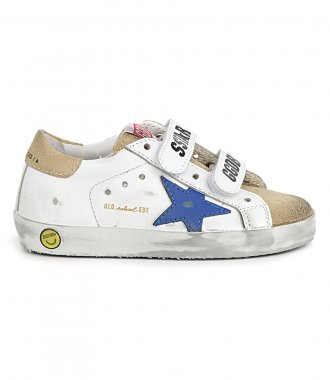 GOLDEN GOOSE  - ROYAL BLUE STAR OLD SCHOOL SNEAKERS