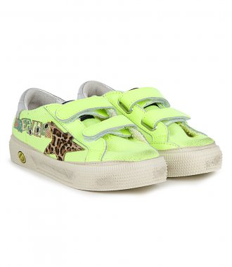 CANVAS WITH LEO HORSY STAR MAY SCHOOL SNEAKERS
