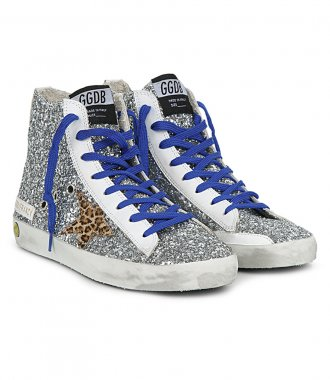 GLITTER WITH HORSY STAR FRANCY SNEAKERS