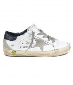 GOLDEN GOOSE  - SUEDE STAR SUPER-STAR SNEAKERS