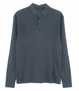 HARTFORD - LINEN POLO  LS