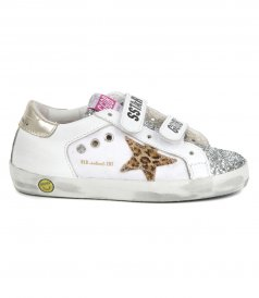 CANVAS LEO HORSY STAR OLD SCHOOL SNEAKERS