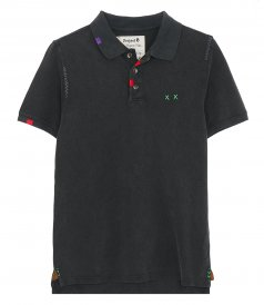 PROJECT E - HEAVY MENDING POLO SLIM FIT
