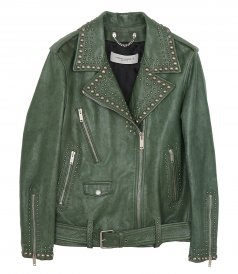 CHIODO GOLDEN WITH STUDS JACKET