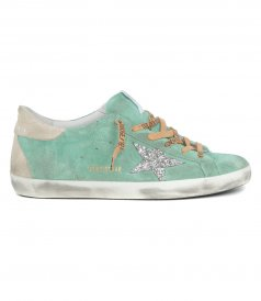 TURQUOISE SUEDE SPUR SUPER-STAR