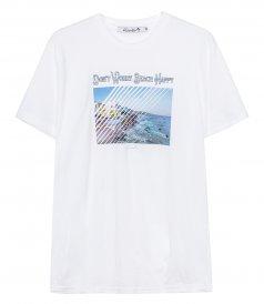 DON'T WORRY BEACH HAPPY T-SHIRT