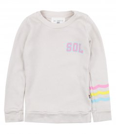 NEON WAVES PULLOVER