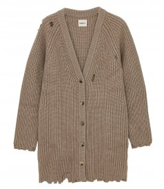 THE RORY DISTRESSED CARDIGAN