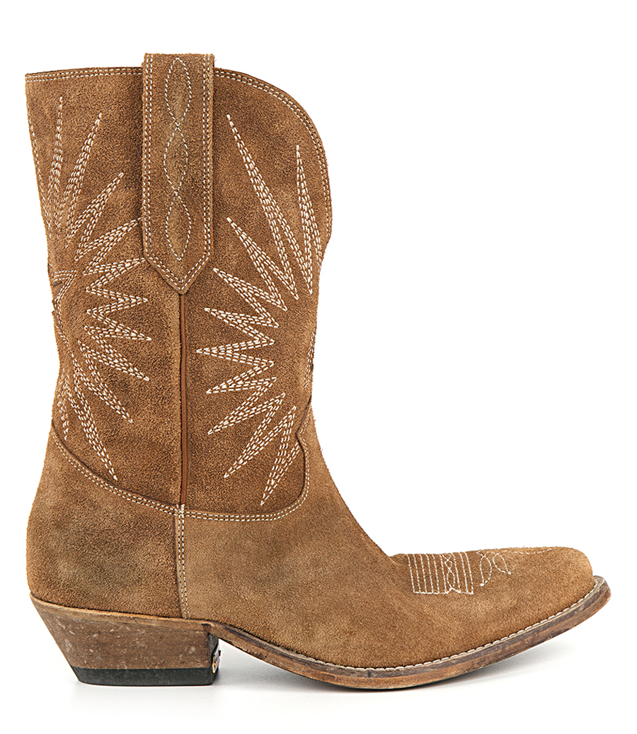 WISH STAR LOW WASHED SUEDE BOOTS | Soho