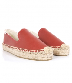 PLATFORM SMOKING SLIPPER LEATHER