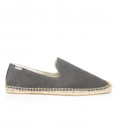 SHOES - SMOKING SLIPPER SUEDE