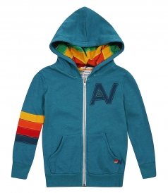AVIATOR NATION - SIGNATURE RAINBOW KIDS HOODIE