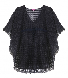 PERLE TUNIC LACE CROCHET