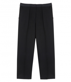 CLOTHES - CROPPED TUXEDO TROUSER