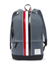 BACKPACK LEATHER STRIPE