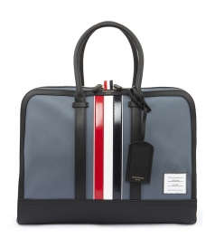 DAY BAG LEATHER STRIPES