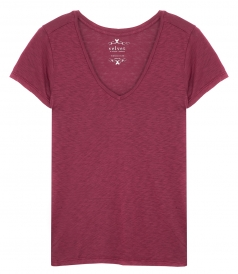 VELVET BY GRAHAM & SPENCER - SS TEE