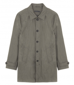 3/4 LENGTH BUTTON COAT