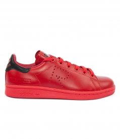 RAF SIMONS STAN SMITH RED MEN SNEAKERS