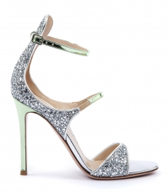 SHOES - JULLIET STRAPPY GLITTERED SANDAL