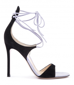 KYLIE LACE UP SUEDE SANDAL