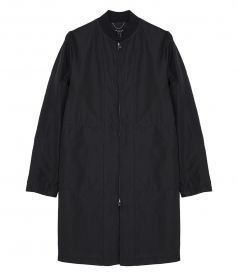 ROBBED COLLAR PERFORMANCE LONG BOMBER