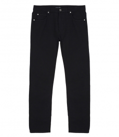 FRENCH COTTON TWILL SKINNY  PANTS