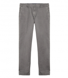 NEW YORK COTTON STRAIGHT SLIM PANT