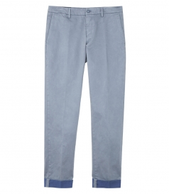 COTTON STRAIGHT SLIM PANT