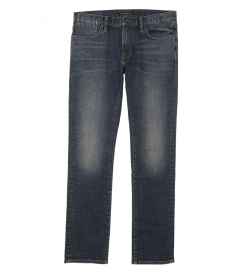 CLOTHES - DISTRESSED INDIGO BOWERY JEANS
