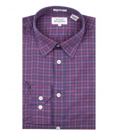 SAMMY PLAID COTTON SLIM FIT SHIRT