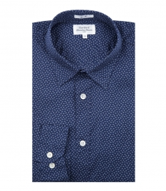 SHIRTS - LONG SLEEVED MICRO PRINTS SAMMY  SHIRT