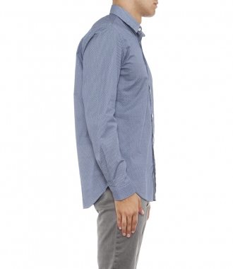LONG SLEEVED MICRO PRINTS SAMMY  SHIRT