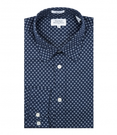 SAMMY MICRO FLOWERS SLIM FIT SHIRT