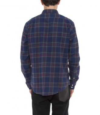 REGULAR FIT PAUL 2 SHIRT COTTON PLAID SHIRT