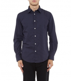 SLIM FIT MICRO DOTS PRINT SAMMY 2 SHIRT