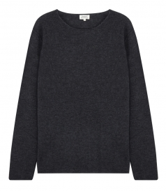 LIGHT CASHMERE CREW NECK PULLOVER