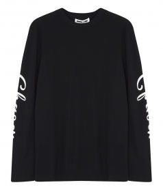 LONG SLEEVE CREWNECK DELUXE CHASER PRINT SWEATER