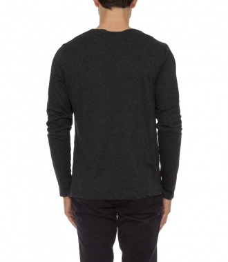 LIGHT CREWNECK LONG SLEEVED TEE