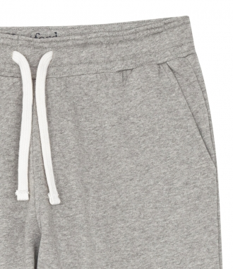 TAPERED COTTON JOGGING SWEATPANTS