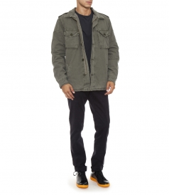 JONAH MILITARY LINED IN COTTON JACKET