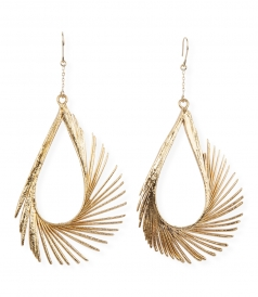 ACCESSORIES - PLUME BO GOOSE FEATHER EARRING