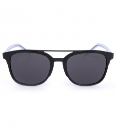 BLACK & TRANSPARENT BLACK TIE SUNGLASSES